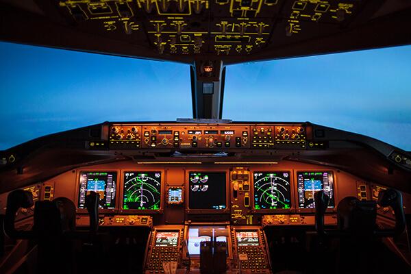 Military & Aero Space - Cockpit