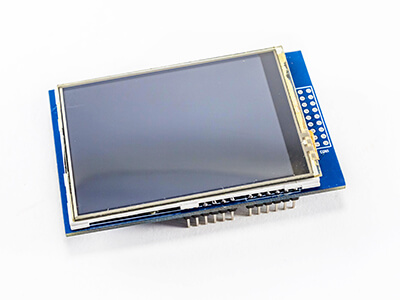 LCD display on a white background.